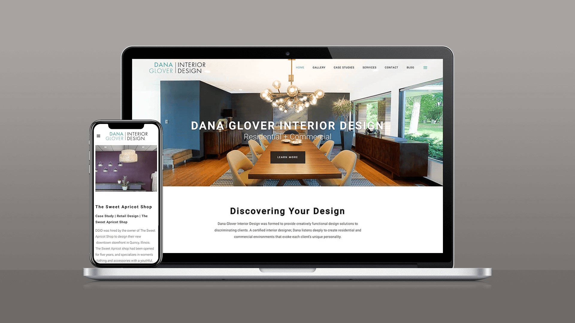 Dana Glover Interior Design Website
